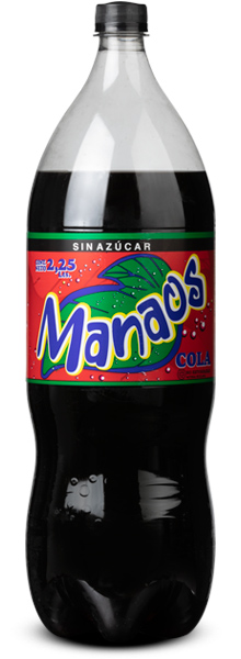 Manaos MANAOS COLA SIN AZÚCAR